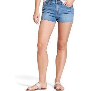 Universal Thread Shortie Denim Shorts Size 4